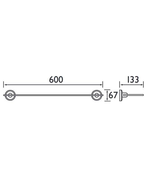 Technical drawing 1409 / SO SHELF C