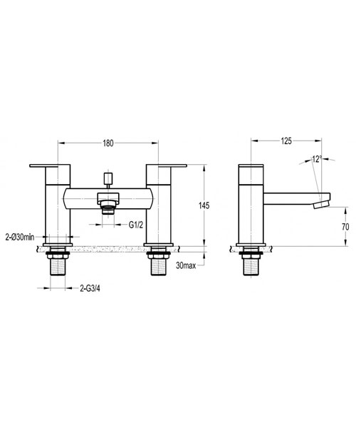 Technical drawing 49116 / SMBSM