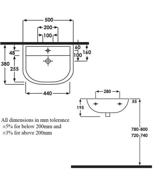 Technical drawing 43335 / COM50BASSN