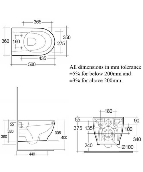 Technical drawing 62747 / HARWHPAN/SC