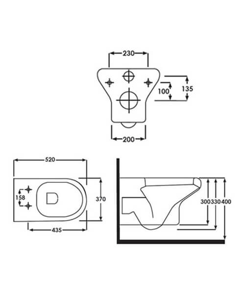 Technical drawing 43331 / COMPANWH/010