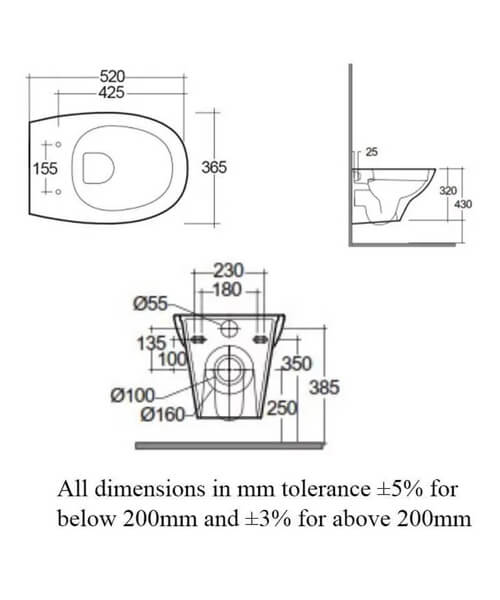 Technical drawing 62761 / MORWHPAN018