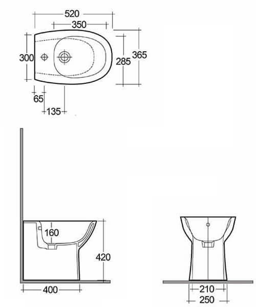 Technical drawing 62762 / MORBD2015AWHA