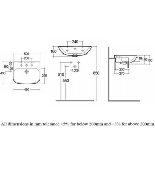 Technical drawing 62772 / ORI62SRBAS1