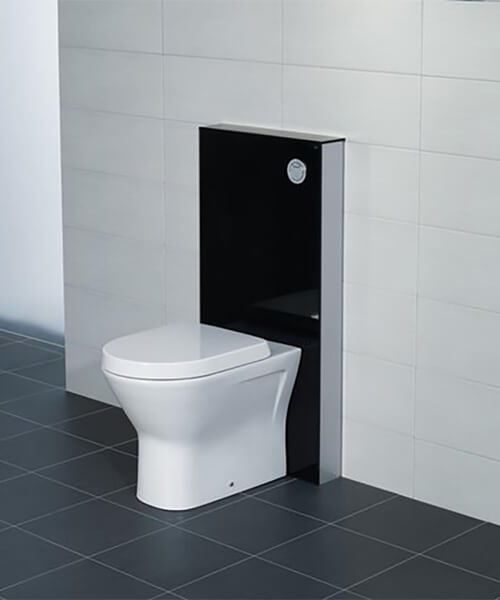 Additional image of RAK Obelisk Cistern Cabinet for Wall Hung Toilet Pan - W 483 x H 1003mm