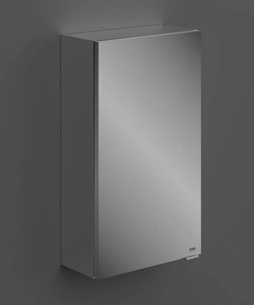 RAK Joy Wall Hung Mirror Cabinet Single Door - W 400 x H 682mm