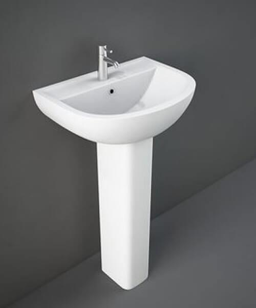 RAK Compact Basin With Full Or Semi Pedestal