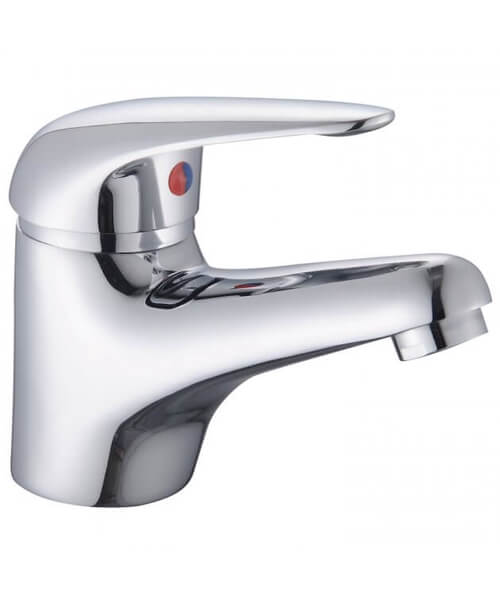 Additional image of RAK Basic Mono Basin Mixer Tap With Clicker Waste