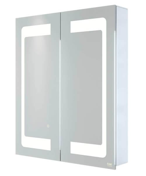 RAK Aphrodite Double Door LED Illuminated Mirrored Cabinet