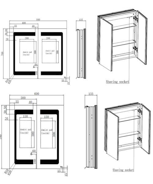 Technical drawing 62864 / RAKAPH5002