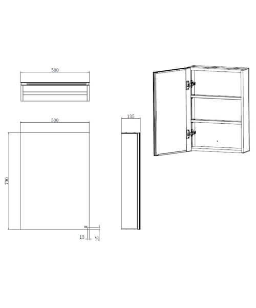 Technical drawing 62874 / RAKGEM5001