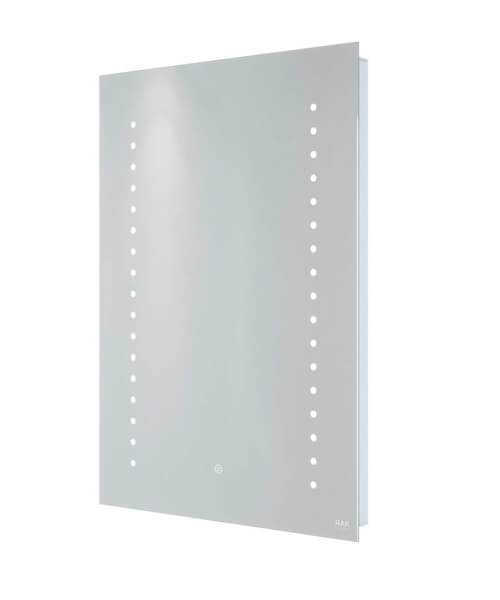 Additional image of RAK Hestia LED Illuminated Mirror With Touch Sensor Switch - W 500 x H 700mm
