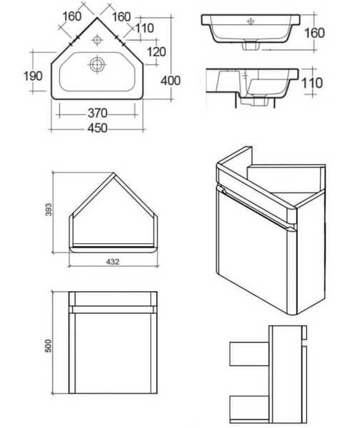 Technical drawing 62902 / RAKRSTWBC45600