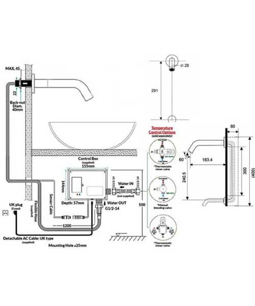 Technical drawing 62893 / RAKCOM902C