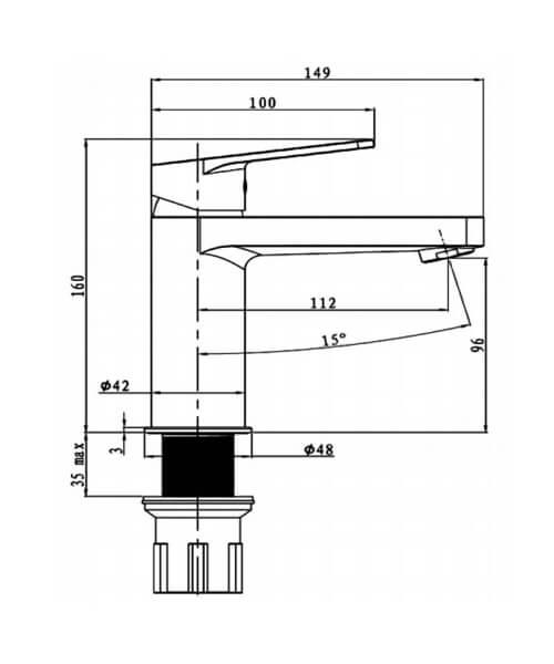 Technical drawing 62941 / RAKORI3001