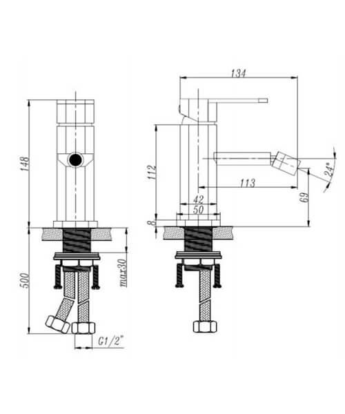 Technical drawing 62963 / RAK710141