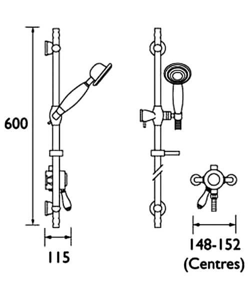 Technical drawing 3297 / KN2 SHXAR C