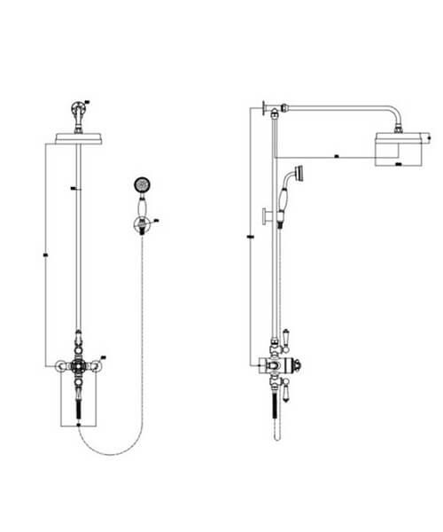 Technical drawing 66012 / RAKWTN6001