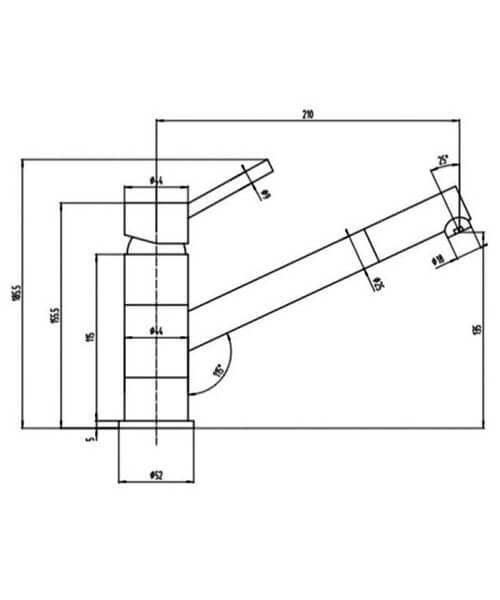 Technical drawing 66027 / RAKKIT015