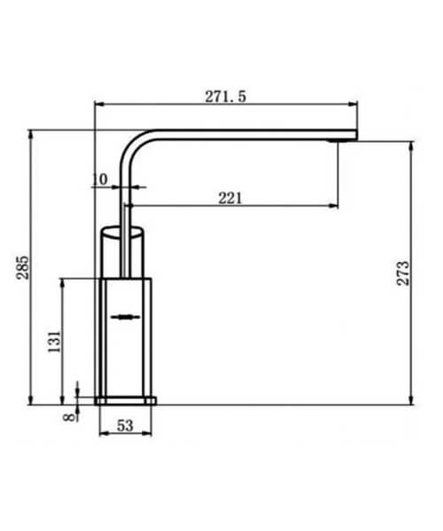 Technical drawing 66028 / RAKKIT016