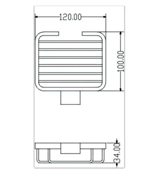 Technical drawing 66046 / RAKHAR9906