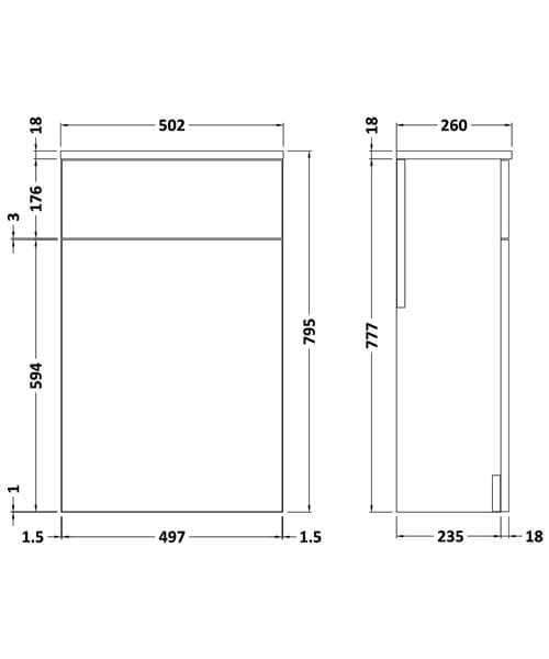 Technical drawing 18713 / NVM141