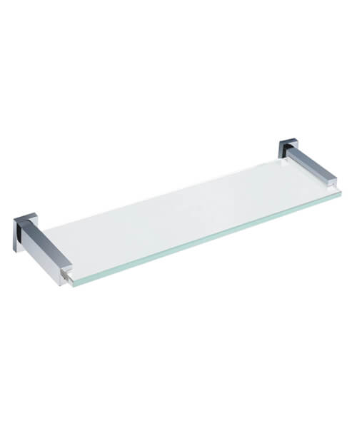 RAK Cubis Glass Shelf - 467mm Wide