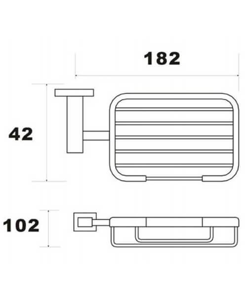 Technical drawing 66055 / RAKCUB9906