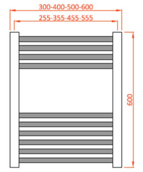 Technical drawing 66090 / MET400600ST