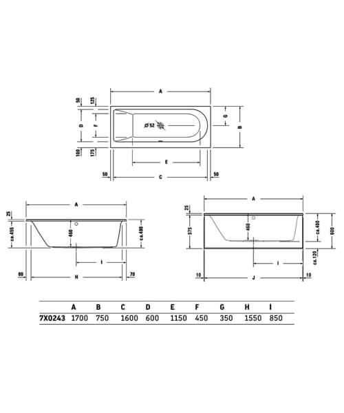 Technical drawing 50433 / 760242000JS1000