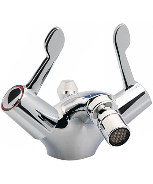 Tre Mercati Capri Lever Mono Bidet Mixer With 3 Inch Lever And Waste