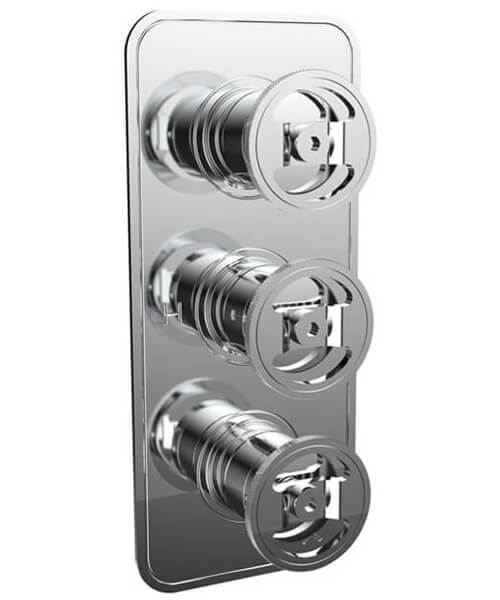Crosswater Union Thermostatic Shower Valve With 2 Diverter