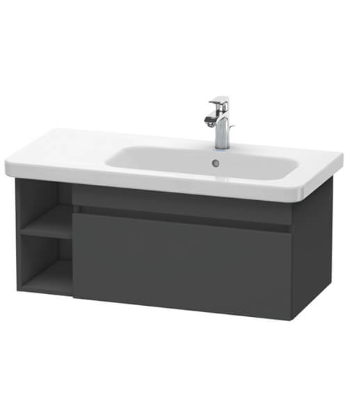 Alternate image of Duravit DuraStyle 1 Pull Out Compartment Vanity Unit And Lateral Shelf