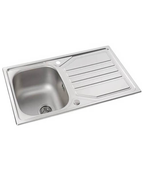 Abode Mikro 1.0 Bowl Kitchen Sink With Drainer