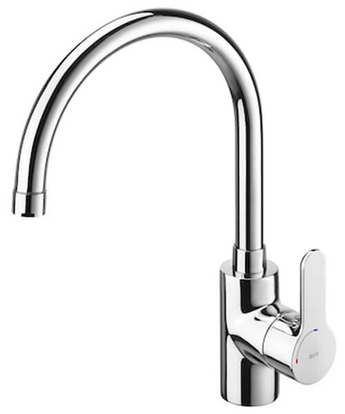 Alternate image of Roca L20 Kitchen Sink Mixer Tap With High Swivel Spout And Aerator