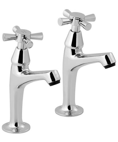 Deva Milan Chrome Kitchen Sink Taps