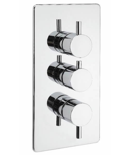 Tre Mercati Vamp Thermostatic 3 Way Diverter Shower Valve