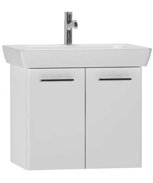 VitrA S20 65cm Vanity Unit And Basin White