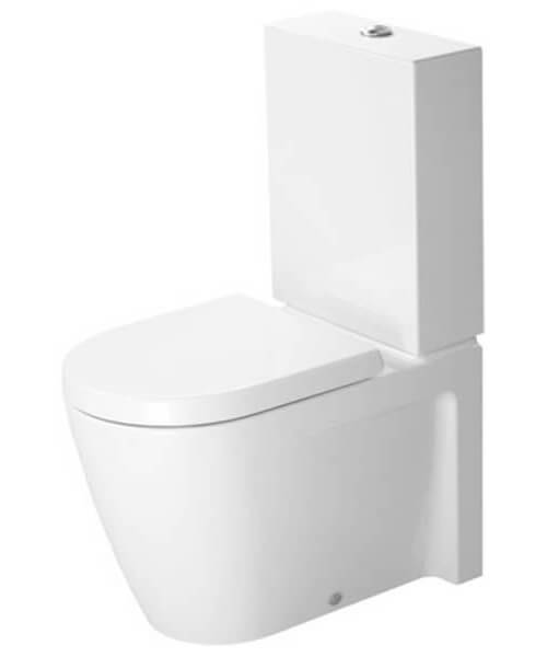 Duravit Starck 2 370mm x 630mm Close Coupled Toilet With Cistern