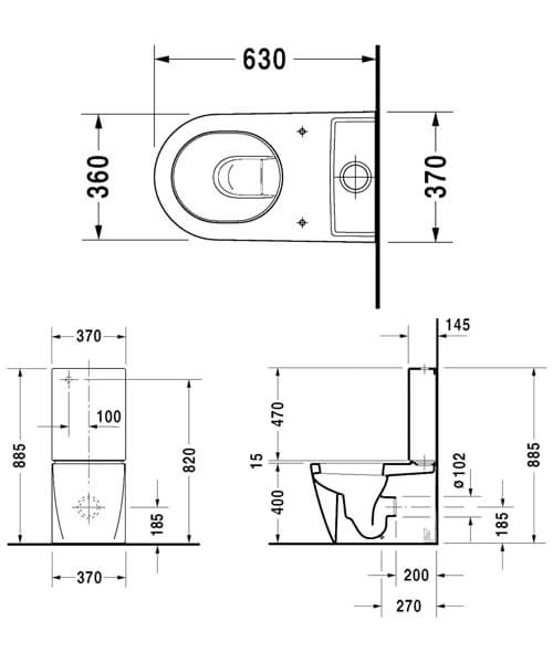 Technical drawing 6817 / 2145090000