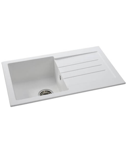 Abode Xcite 1.0 Reversible Single Bowl And Drainer