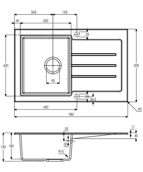Technical drawing 63456 / AW3120