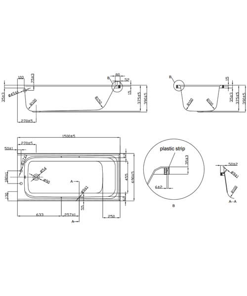 Technical drawing 52018 / EB123