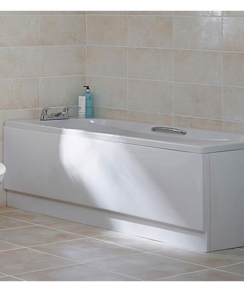 Essential Ocean Rectangular Bath Single Ended - L 1500 x W 700mm