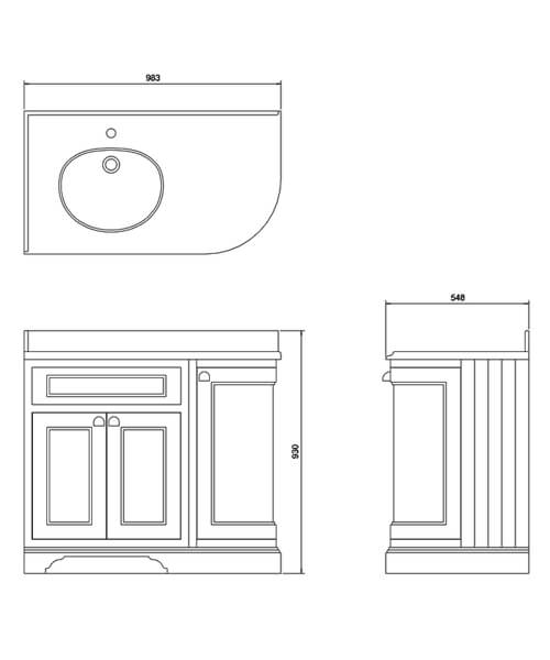 Technical drawing 45758 / FC2W