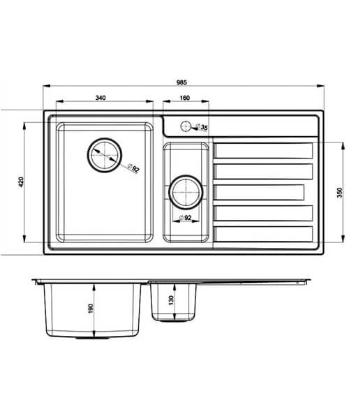 Technical drawing 48756 / RK9852L/