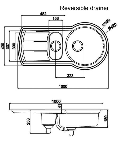 Technical drawing 39027 / KY10002/