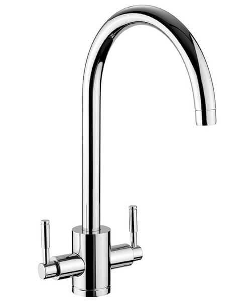 Rangemaster Aquatrend 1 Monobloc Dual Lever Kitchen Sink Mixer Tap