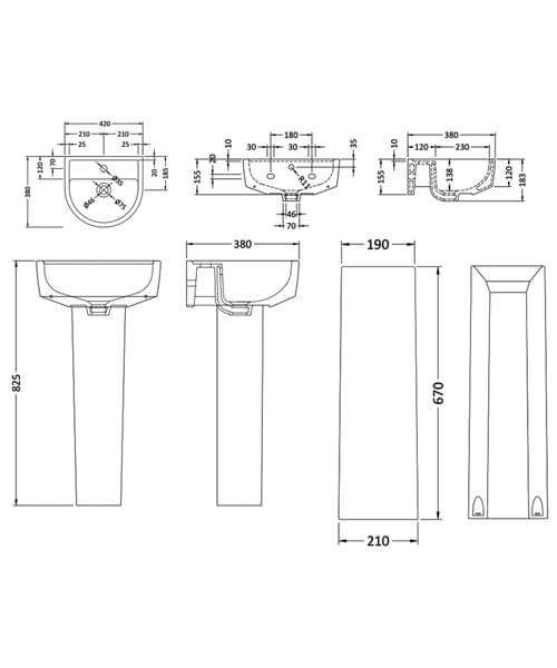 Technical drawing 22870 / CPV001