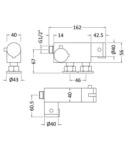 Technical drawing 58154 / VBS023